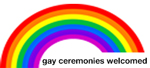 Gay Ceremonies Welcomed